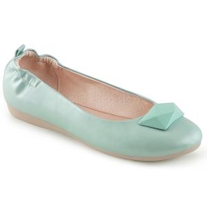 Blau OLIVE-08 ballerinas flache damenschuhe