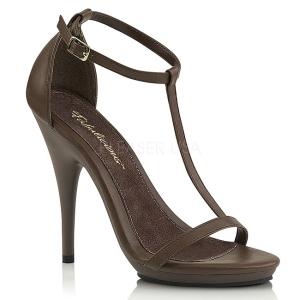 Braun 12,5 cm Fabulicious POISE-526 Sandaletten mit high heels