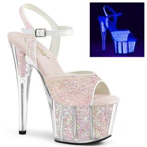 Glitter plateau 18 cm ADORE-710UVG exotic pole dance sandaletten