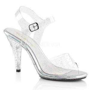 Glitzern 10 cm Fabulicious CARESS-408MMG Sandaletten mit high heels