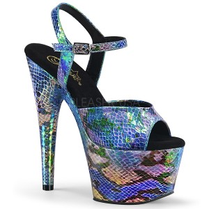 Hologramm 18 cm ADORE-709SP pleaser high heels mit plateau