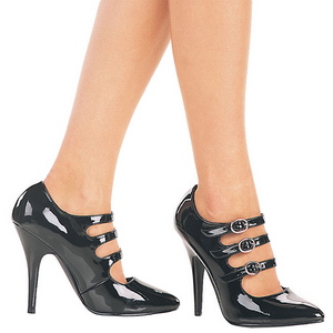 Lackleder 13 cm SEDUCE-453 damen pumps schuhe