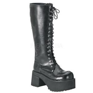 Leatherette 9 cm RANGER-302 Platform Mens Gothic Boots