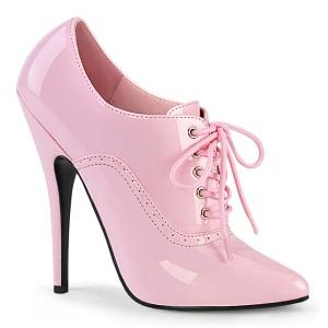 Rosa 15 cm DOMINA-460 Herren high heels oxford pumps