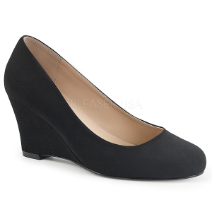 Suede 7,5 cm KIMBERLY-08 big size pumps shoes