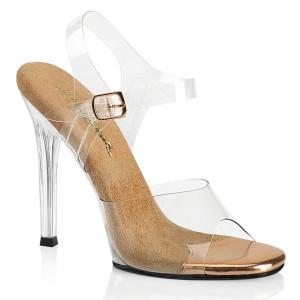Transparent 11,5 cm GALA-08 fabulicious posing high heels schuhe