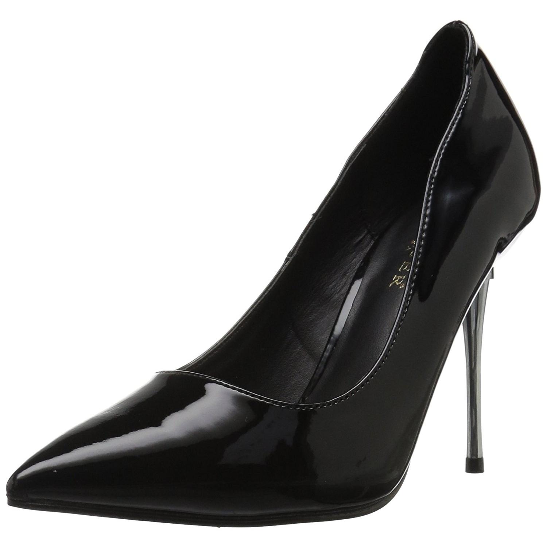 PleaserUSA Damen Stiletto High Heel Pumps Appeal 20 Lack rot