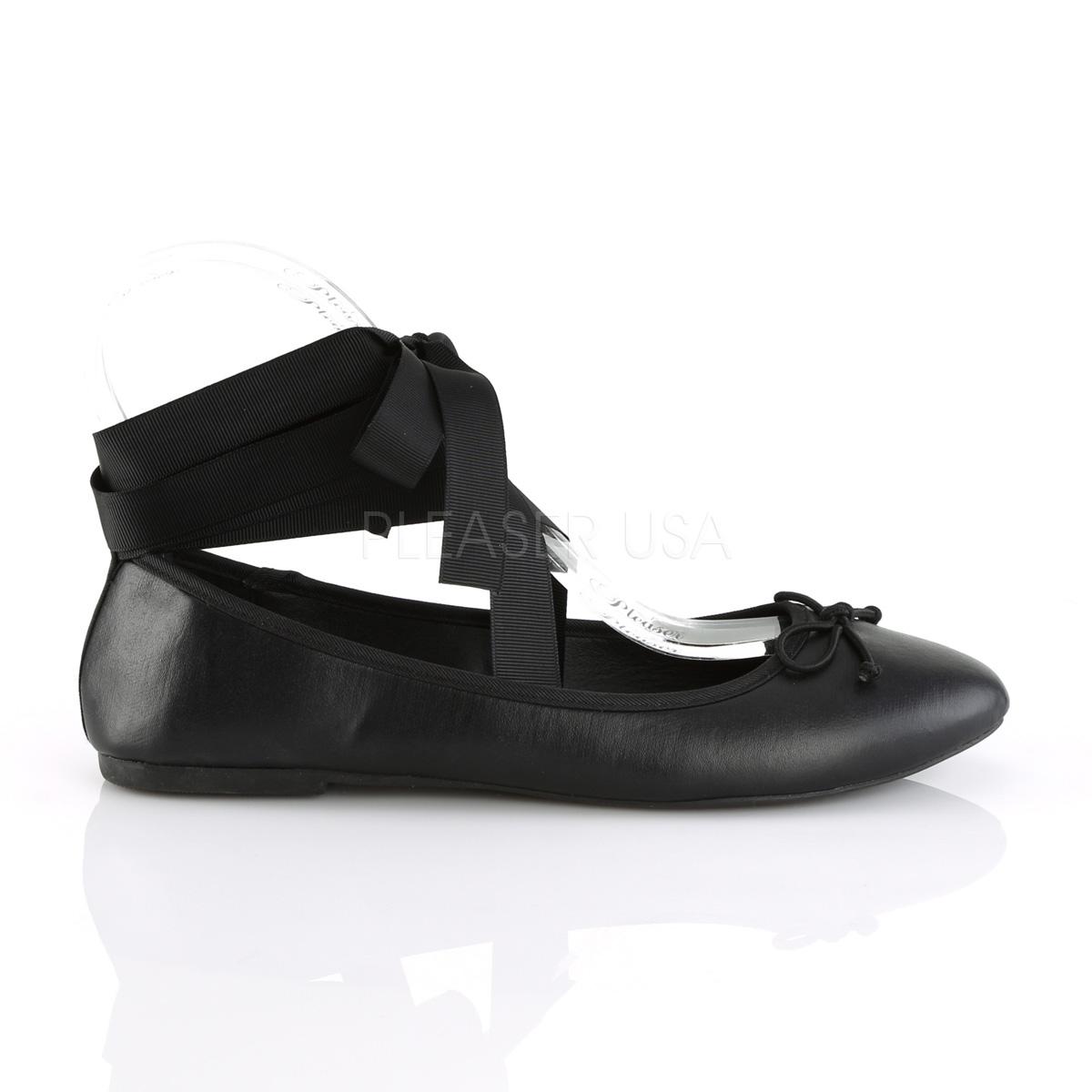 Leatherette DEMONIA DRAC 03 ballerinas flat womens shoes