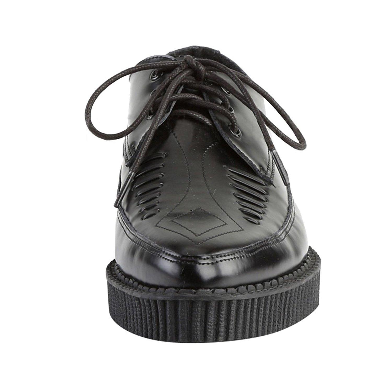 cm Herren Plateau CREEPER 712 Creepers 3 Schuhe Leder tBQhrCsdx