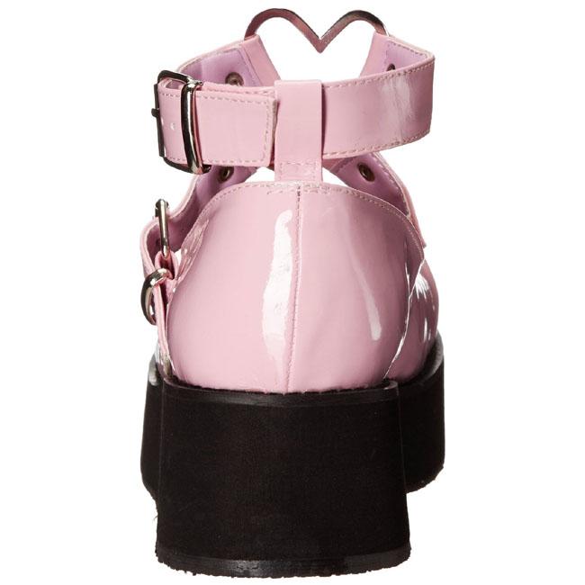 new styles e51ea 2158b Pink 6 cm SPRITE-02 lolita schuhe gothic plateauschuhe