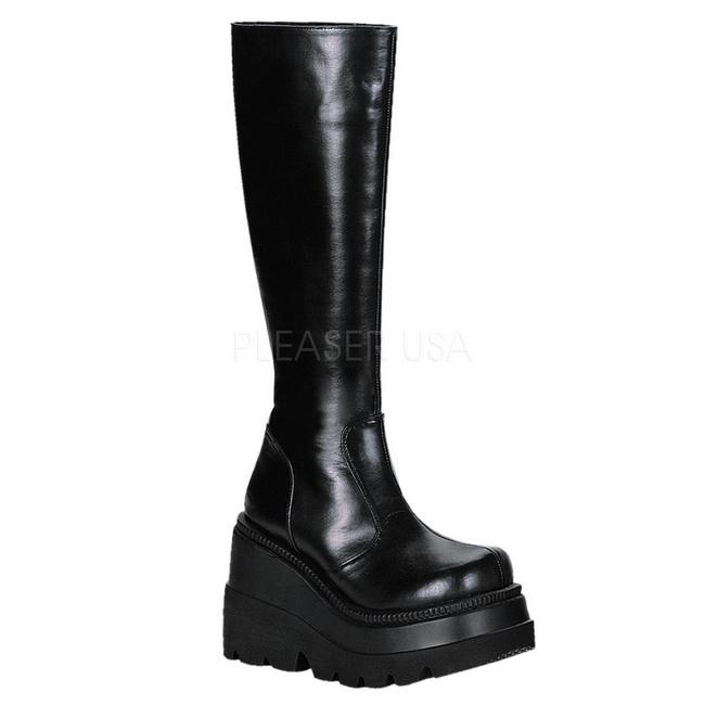 5 Gothic Shaker Lolita Schwarz 11 100 Stiefel Plateau Cm OPkZiuX