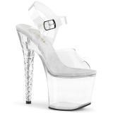 Acryl 18 cm Pleaser UNICORN-708 High Heels Plateauschuhe