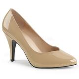 Beige Lack 10 cm DREAM-420 High Heels Pumps für Männer