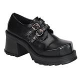 Black 7 cm TRUMP-101 lolita gothic platform shoes