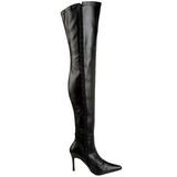 Black Matte 9,5 cm LUST-3000 overknee high heel boots