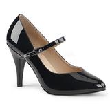Black Patent 10 cm DREAM-428 big size pumps shoes