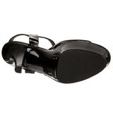 Black Shiny 15 cm FUNTASMA JULIET-209 High Heels Platform