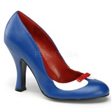 Blau 10,5 cm SMITTEN-05 Damenschuhe mit hohem Absatz