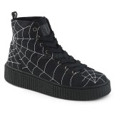 Canvas 4 cm SNEEKER-250 Mens sneakers creepers shoes