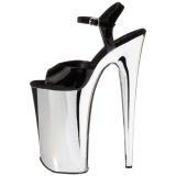 Chrome 25,5 cm BEYOND-009 pleaser heels - extreme plateau high heels