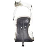 Clear 11,5 cm GALA-06 High Heeled Stiletto Sandal Shoes