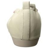 Cream OLIVE-05 ballerinas flat womens shoes