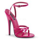 Fuchsia 15 cm DOMINA-108 high heels für männer