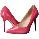 Fuchsia Shiny 10 cm CLASSIQUE-20 Pumps High Heels for Men