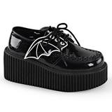 Glitter CREEPER-205 Plateau Creepers Schuhe Damen