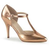 Gold Rose 10,5 cm VANITY-415 Herren High Heel Pumps
