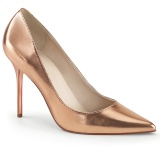 Gold Rose 10 cm CLASSIQUE-20 High Heels Pumps für Männer