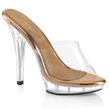 Gold Rose 13 cm LIP-101 fabulicious posing high heels schuhe
