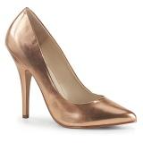 Gold Rose 13 cm SEDUCE-420 High Heels Pumps für Männer