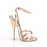 Gold Rose 15 cm Devious DOMINA-108 Sandaletten mit high heels