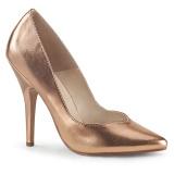 Gold Rose Matt 13 cm SEDUCE-420V High Heels Pumps für Männer