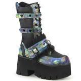 Hologram 9 cm ASHES-120 cyberpunk platform chunky boots