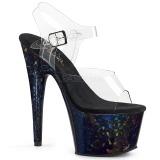 Hologramm 18 cm Pleaser ADORE-708HSP pole dance high heels schuhe