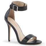 Kunstleder 13 cm AMUSE-10 high heels für männer