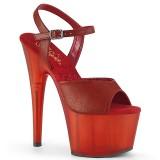 Kunstleder 18 cm ADORE-709T pleaser sandaletten mit plateau