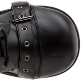 Kunstleder 8,5 cm TRASHVILLE-205 Plateau Gothic Stiefel Herren