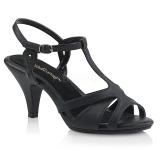 Kunstleder 8 cm BELLE-322 high heels für männer