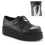 Kunstleder V-CREEPER-515 Plateau Creepers Schuhe Herren