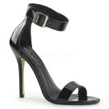 Lackleder 13 cm AMUSE-10 high heels für männer