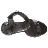 Lackleder 13 cm Pleaser AMUSE-10 Sandaletten mit high heels