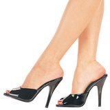 Lackleder 13 cm Pleaser SEDUCE-101 Damen Mules Schuhe