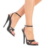 Lackleder 15 cm Devious DOMINA-108 Sandaletten mit high heels
