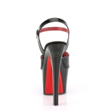 Lackleder 18 cm SKY-309TT pleaser sandaletten mit roten sohlen