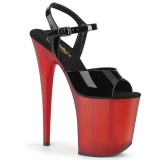 Lackleder 20 cm FLAMINGO-809T pleaser schuhe high heels
