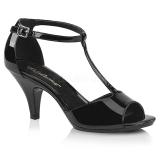 Lackleder 8 cm BELLE-371 high heels für männer