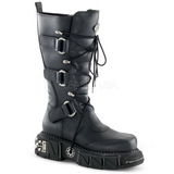 Leatherette 5 cm DMA-3005 Platform Mens Gothic Boots